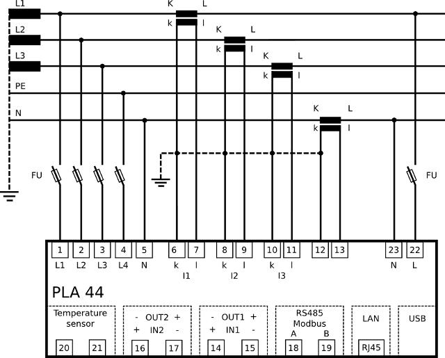 PLA44 Connection