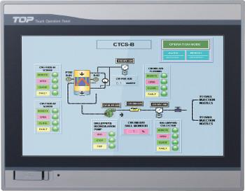 TOUCH PANELTFT LCD 65,536 color 800*480, USB host DC24V: HM2IXTOP10TWUD