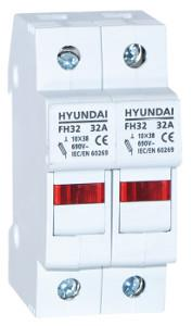 Fuse switch disconnector FH size 10X38 2P max. 32A: HYUNFH10X38A032P2