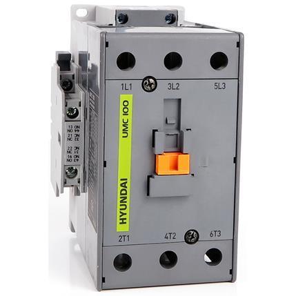 Contactor UMC 75A AC3/440V, 3P + 1NO1NC, 230V 50-60Hz, AC1-115A, Ue AC690V: HYUNUMC7522NSX230