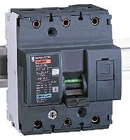 Miniature Circuit Breaker NG125N, 3P, 80A, C: SCHN18640