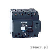 Miniature Circuit Breaker NG125N 4P 40A  C: SCHN18654