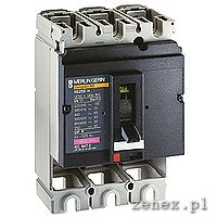Circuit Breaker Compact NS160H, 160A, 3P, fixed, without trip unit: SCHN30404