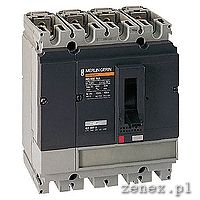 Switch - disconnector Compact NS250 NA, 250 A, 4P 690V 50/60HZ: SCHN31639