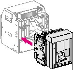 BASIC BREAKER, DRAWOUT VERSION NS1000H, 3P: SCHN33341