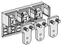 FRONT CONNECTION DOWNSIDE MOUNTING FOR NS630-1000 A, 3P: SCHN33599