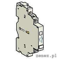 AUXILIARY CONTACT BLOCK, SIDE MOUNT,  1NO+1NC: SCHNGVAN11