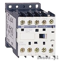 CONTACTOR, 3P, AC3-6A, 230V AC, AUXILIARY CONTACT 1NO, 50/60HZ: SCHNLC1K0610P7