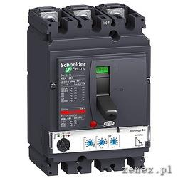 Circuit Breaker Compact NSX100N, Micrologic 2.2, 100A, 3P 3D: SCHNLV429795