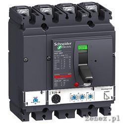 CIRCUIT BREAKER COMPACT NSX250N, 4P, 4D, MICROLOGIC 2.2, 250A: SCHNLV431875