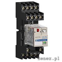 SOCKET RXZ - MIXED CONTACT - 10A - < 250V - CONNECTOR - FOR RELAY RXM2.., RXM4..                    : SCHNRXZE2M114M