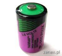 BATTERY LITHIUM SIZE 1/2AA,3.6V FOR TSX / TWD                                                       : SCHNTSXPLP01