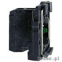 Single contact block with body/fixing collar, 1NO, screw clamp terminal: SCHNZB5AZ101