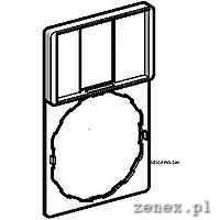 Label holder 30 x 50 mm with label 18 x 27 mm (no label): SCHNZBZ33
