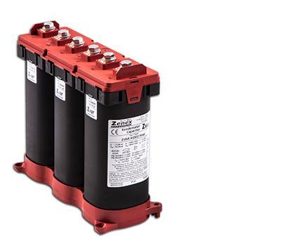 Capacitor 6P 15/21,6kvar@400/480 50Hz 3x99,5µF 3x18/21,6A 82x246xH212: ZVAR48216P6W
