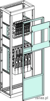 Schemat Systemu rozłączników listwowych