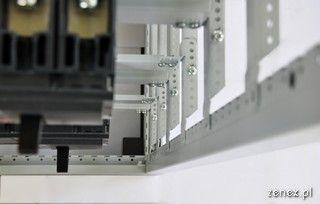 Moduł rozłączników w systemie Zenergy - widok z doło