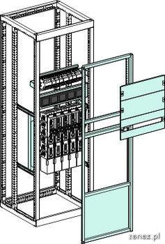 Schemat System rozłączników listwowych z miernikami parametrów sieci elektrycznej