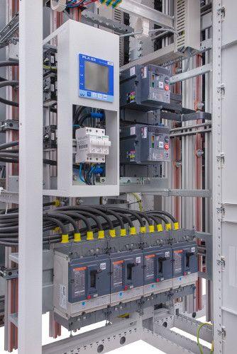 Analizatory sieci PLA - podłączenie do rozdzielnicy nN.