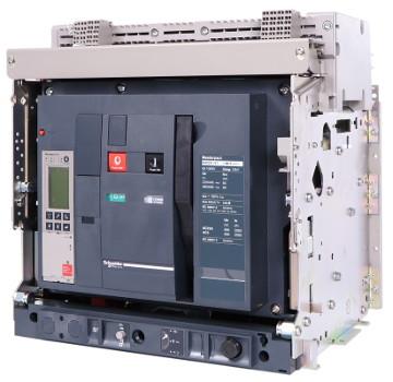 Wyłącznik złożony w firmie Zenex a na podstawie akcesori firmy Schneider.