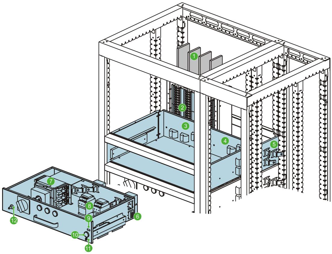 Schemat przykładowoego modułu Zenergy MMC